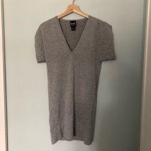 Henri Bendel Cashmere Grey/Silver sweater/tunic